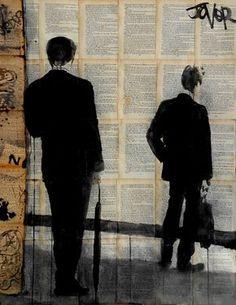 "Saatchi Art Artist Loui Jover; Drawing, ""the wait"" #art"