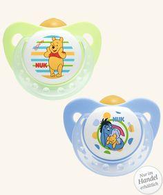NUK Disney Winnie Trendline Latex-Schnuller 2 Stck. #pacifier