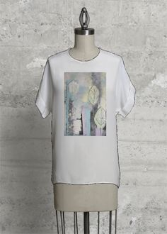 Pastel Princess  #pastel #artisticapparel #top #womensfashion #abstract