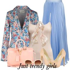 floral blazer with maxi skirt 9 s