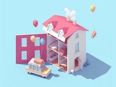 Dolls House by Guillaume Kurkdjian - Dribbble