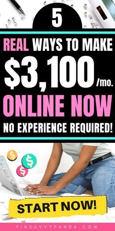 Are you a stay at home mom, teenager or adult looking for online jobs? Here are legit and stress-free ways to make money from home fast. These are creative ways to make extra cash that I wish I knew about sooner! Read more to find out how you can start earning more than $3,000 every month in extra money at home today! #3 is my TOP PICK because you can start NOW with no experience required! PIN ME for later! #makemoneyonline #makemoney #workfromhome #sidehustle