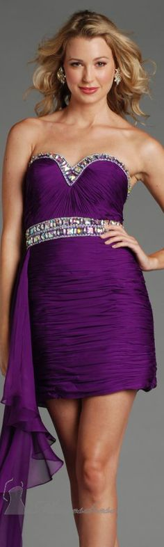 Jolene high couture dress#cocktail #purple