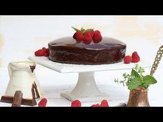 Bizcocho con cobertura de chocolate - Videorecetas - YouTube