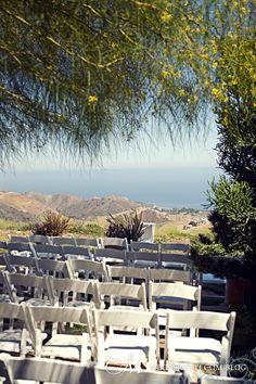 Location: Rancho del Cielo Malibu, CA    Dress: Oscar de la Renta    Shoes: Valentino    Planner: Avesta Carrera w/ Malibu Events