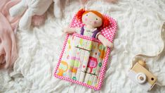Trendy sewing projects for kids toys sleeping bags Ideas Baby Lock Sewing Machine, Fabric Markers, Camping, Sewing Projects For Kids, Kits For Kids, Blanket Stitch, Doll Tutorial, Christmas Gifts For Kids, Sewing Basics