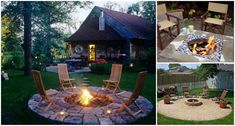 DIY Fire Pit Ideas and Tutorials for your Backyard? | [DIY] Do It Yourself Ideas