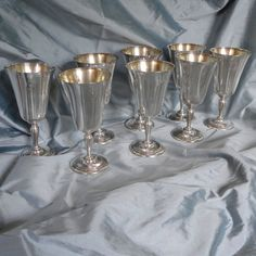 Silver Goblets Sterling Silver