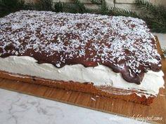 Polish Desserts, Polish Recipes, Sweet Tarts, Coffee Cake, Food Hacks, Tiramisu, Cake Recipes, Deserts, Good Food