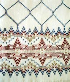 Resultado de imagem para Free Swedish Weaving Patterns