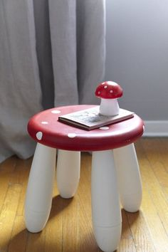 DIY Ideas for Hacking the IKEA Mammut Stool | Apartment Therapy