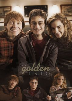 Harry Potter ~ The Golden Trio