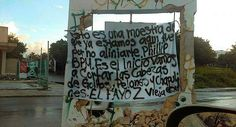 En narcomantas, Los Zetas se atribuyen ataque al Blue Parrot