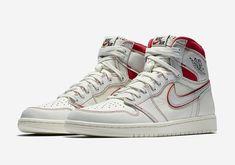 size 40 425aa 5dcfc (eBay Sponsored) 2019 Nike Air Jordan 1 Retro High OG SZ 10 Sail Phantom  Red Black 555088-160