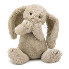 Jellycat Medium Bashful Bunny Plush Soft Toy (30 AUD) ❤ liked on Polyvore featuring toys, baby, kids and plushies