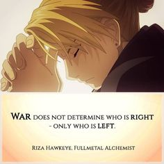 Riza Hawkeye knows some shit. Full Metal Alchemist, Der Alchemist, Anime Fullmetal Alchemist, Fullmetal Alchemist Brotherhood, Anime Qoutes, Manga Quotes, Superwholock, Manga Anime, Hotarubi No Mori