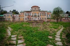 Abandoned manor, Russia.