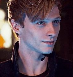 Sebastian Morgenstern - he's hot  as hell, but I can't shake the feeling that he has ulterior motives..  *ShadowHunters*