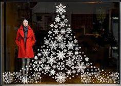 christmas windows display trees - Google zoeken