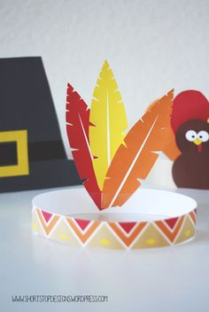 Thanksgiving Kids Hat Printable