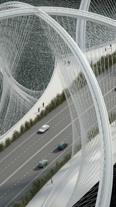 Penda projeta ponte inspirada nos anéis olímpicos em Pequim   ArchDaily Brasil