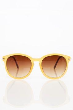 LaTour Sunglasses in Mustard - ShopSosie.com