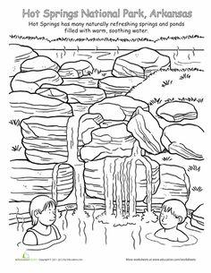 Worksheets: Hot Springs National Park