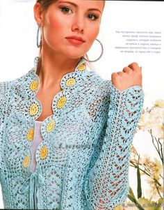 Linda blusa en azul