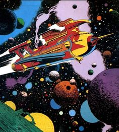 The great Al Williamson from the 1980 comic of Flash Gordon!