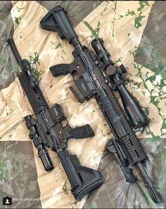 Likes, 24 Comments - Guns Weapons Guns, Airsoft Guns, Guns And Ammo, Tactical Guns, Armas Airsoft, Battle Rifle, Shooting Guns, Custom Guns, Assault Rifle