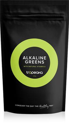 Tropeaka (an Austalian company)- Alkaline Greens