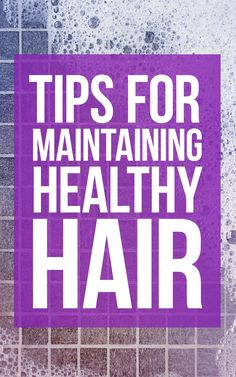 Maintain healthy hair all year long with simple home remedies. #beauty #haircare