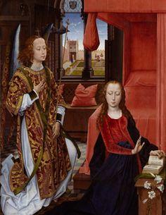 Rogier van der Weyden - Annunciation
