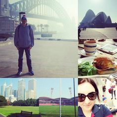 Harbour Bridge  Opera House  Botanical Gardens  Spotless Stadium  Kings Cross   Squeezed everything out of the Trip that we could was a blast (Apart from being sleep deprived)  #Sydney #circularquay #sydneyharbour #kingscross #botanicalgardens #sydneyharbourbridge #harbourbridge #AFL #spotlessstadium #westernbulldogs #plane #travel #hashtags by brg93 http://ift.tt/1NRMbNv