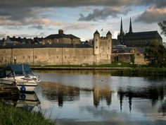 Castle of Enniskillen on the Bank of Lough Erne