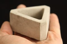 3x Concrete Plant Pot, Geometric Plant Pot, Cement Plant pot, Succulent Plant Pot ,Concrete Decoration, Cactus Plant Pot. Desk Accessory by PJCreationCrafts on Etsy