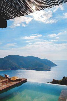 motivationsforlife:  Tainaron Blue Retreat by OIKADE DESIGN \\ MFL