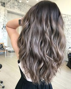 Dreaming of ash brown hair as a way to freshen up your 'do? When you see these 16 shades, you'll want to try ash brown ASAP! Dreaming of ash brown hair as a way to freshen up your 'do? When you see these 16 shades, you'll want to try ash brown ASAP! Ash Brown Balayage, Balayage Brunette, Hair Color Balayage, Brunette Hair, Hair Highlights, Ash Brown Hair With Highlights, Peekaboo Highlights, Ash Brown Ombre, Dark Brown Hair With Blonde Highlights
