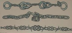 Chain Tattoo Design Barbed wire and chain armband tattoos designs Barbed Wire Drawing, Barbed Wire Tattoos, Barbed Wire Art, Name Tattoos On Wrist, Pin Up Tattoos, Skull Tattoos, Letter Tattoos, Wrist Tattoo, Chain Tattoo