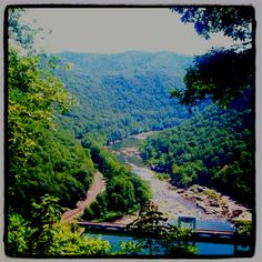 The beautiful mountains of West Virginia<3 I miss it