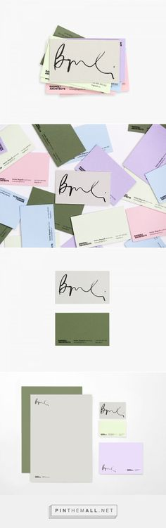 Bagnoli Architects Branding by Ortolan