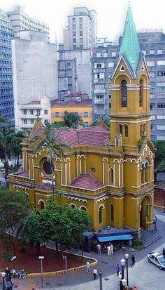 Igreja Nossa Senhora do Rosário dos Homens Pretos, de 1906 - São Paulo, Brazil