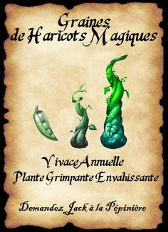 affiche haricot magique                                                                                                                                                                                 Plus