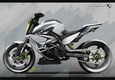 BMW Motorrad has unveiled their new Concept Stunt G 310 at the Salao Duas Rodas motorcycle show in São Paulo. Bmw Concept, Concept Motorcycles, Cool Motorcycles, Sidecar, Motos Retro, Bmw Design, Bike Sketch, Stunt Bike, Motorbike Design