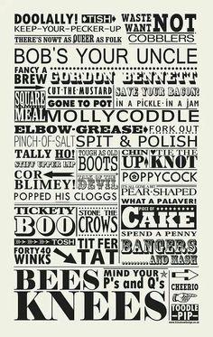 British Sayings