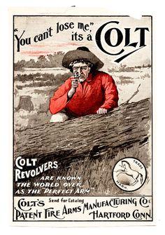 By CoolOldStuffForSale . very early authentic original gun advertisement, super scarce! Vintage Labels, Vintage Ephemera, Vintage Ads, Gun Decor, Western Wall Decor, Rustic Art, Old Ads, Print Magazine, Vintage Advertisements