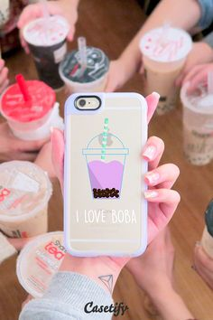 Who wants bubble tea? Click though to see more iPhone 6 case designs by @rxnneeee >>> https://www.casetify.com/roxanneeee/collection | @casetify