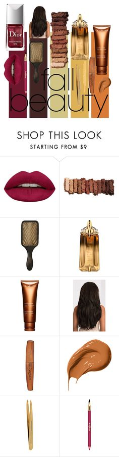 """""""Fall Beauty Essentials"""" by jasmine-arminda ❤ liked on Polyvore featuring beauty, Huda Beauty, Urban Decay, Couture Colour, Thierry Mugler, Clarins, Rimmel, Bobbi Brown Cosmetics, Tweezerman and Sisley"""
