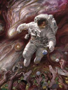 As fantásticas pinturas de ficção científica de Donato Giancola