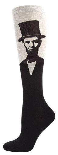 Custom Able Lincoln Hats Crew Socks NEW